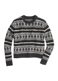 Lambswool classic Fair Isle sweater