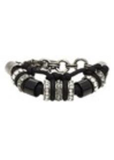 Lanvin Acrylic & Crystal-Embellshed Bracelet