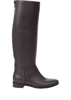 Lanvin Back-Zip Knee Boots