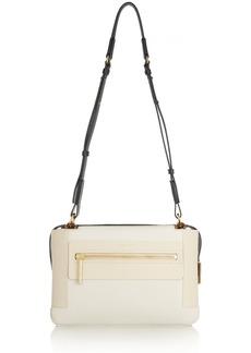 Lanvin Beyond medium color-block leather shoulder bag
