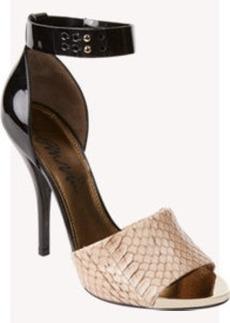 Lanvin Bi-Color Ankle-Strap Sandals