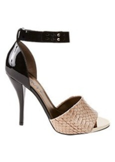 Lanvin Bi-Color Ankle-Strap Sandals