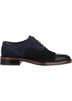 Lanvin Bi-Color Cap-Toe Oxfords