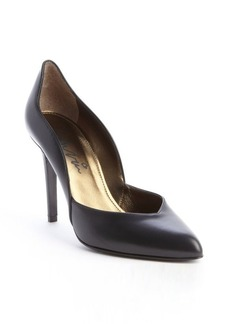 Lanvin black leather 'Escarpin' pump
