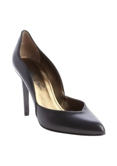 Lanvin black leather 'Escarpin' pumps