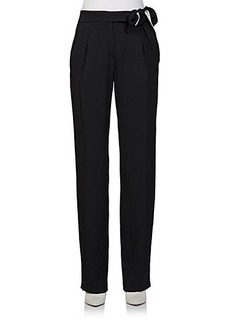 Lanvin Bow Suiting Pants