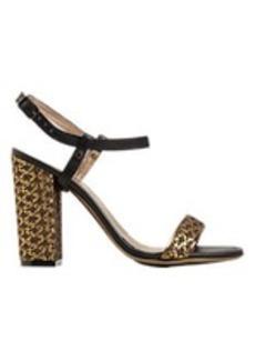 Lanvin Brocade Ankle-Strap Sandals