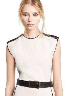 Lanvin Calfskin Leather Belt