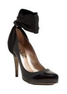 Lanvin Cap-Toe Ankle-Strap Pumps