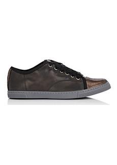 Lanvin Cap-Toe Sneakers