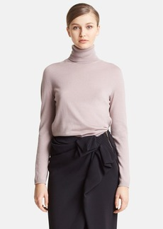 Lanvin Cashmere & Silk Turtleneck Sweater