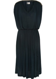 Lanvin Chain-trimmed stretch-jersey dress