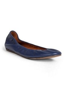 Lanvin Classic Leather Ballet Flats