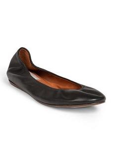 Lanvin Classic Leather Ballet Flats