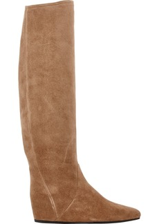 Lanvin Concealed Wedge Knee Boots