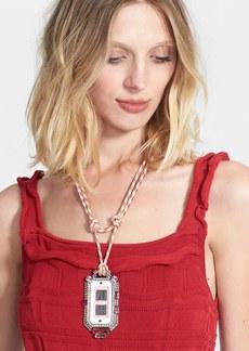 Lanvin Cord Pendant Necklace