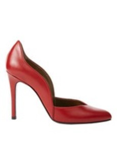 Lanvin Curved Point-Toe Pumps