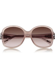 Lanvin D-frame metal and acetate sunglasses