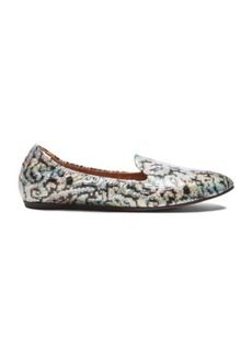 Lanvin Brocade Coated Fabric Slippers