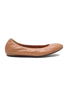 "Lanvin <div class=""product_name"">Classic Goatskin Ballerina Flats</div>"