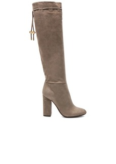 "Lanvin <div class=""product_name"">Knee High Suede Boots</div>"