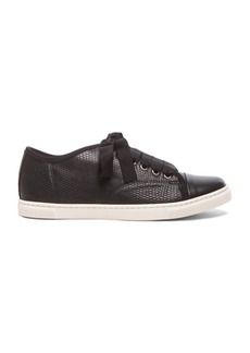 "Lanvin <div class=""product_name"">Low Top Lambskin Sneakers</div>"