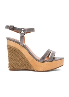 "Lanvin <div class=""product_name"">Wedge Sandal Leather Espadrilles</div>"