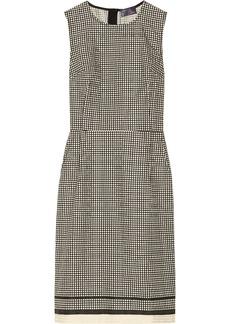 Lanvin Dot-print cotton-blend jacquard dress