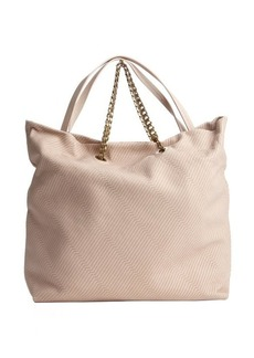 Lanvin ecry diagonally stitched leather 'Carry Me' bag