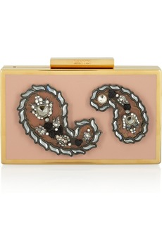 Lanvin Evening embellished resin box clutch