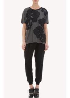 Lanvin Floral Appliqué T-shirt