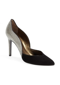 Lanvin Genuine Snakeskin Pump (Women)