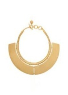 Lanvin Gold Short Oracle Necklace
