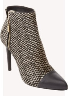 Lanvin Haircalf Side-Zip Ankle Boots