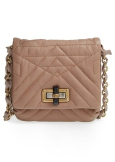 Lanvin 'Happy - Mini Pop' Quilted Lambskin Leather Crossbody Bag