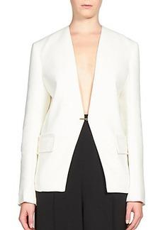 Lanvin Hook-Front Jacket