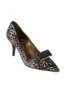 Lanvin Jacquard Metal-Trim Bow Pumps