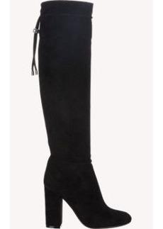 Lanvin Lace-Detail Knee Boots