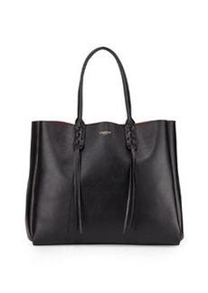 Lanvin Leather Fringe Tote Bag, Black