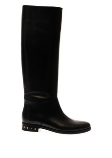 Lanvin Leather riding boots
