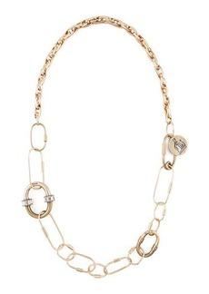 Lanvin Long Golden Chain Necklace/Belt