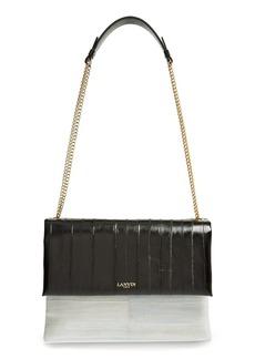 Lanvin Medium Sugar Eel Shoulder Bag