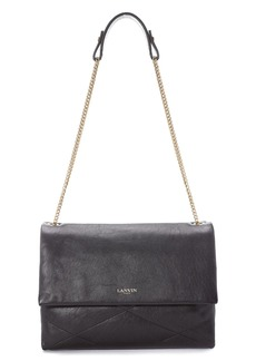 Lanvin 'Medium Sugar' Lambskin Leather Shoulder Bag