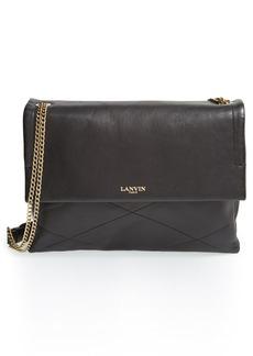 Lanvin 'Medium Sugar' Quilted Lambskin Leather Shoulder Bag