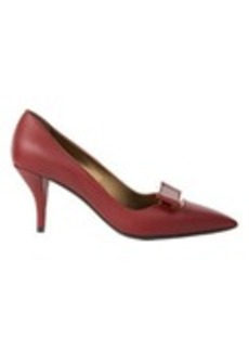 Lanvin Metal-Trim Bow Pumps