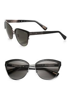 Lanvin Modified Cat's-Eye Sunglasses