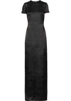 Lanvin Open-back satin gown