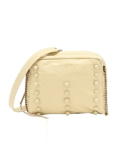 Lanvin pale yellow lambskin 'Baby Sugar' shoulder bag