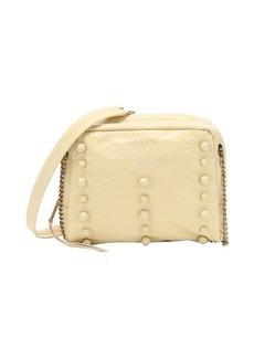 Lanvin pale yellow lambskin 'Baby Sugar' shoulder bag
