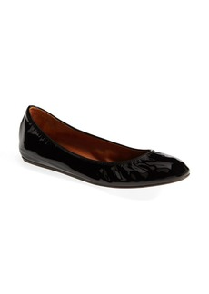 Lanvin Patent Leather Ballerina Flat (Women)